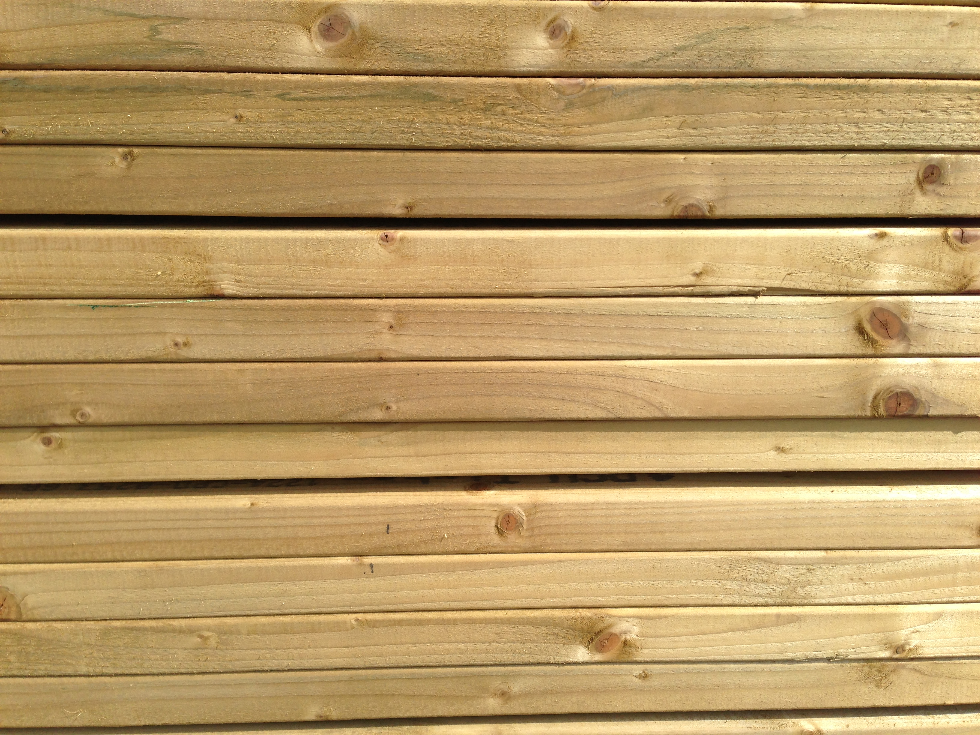 Decking bearers long eaton fencing for Longest decking boards