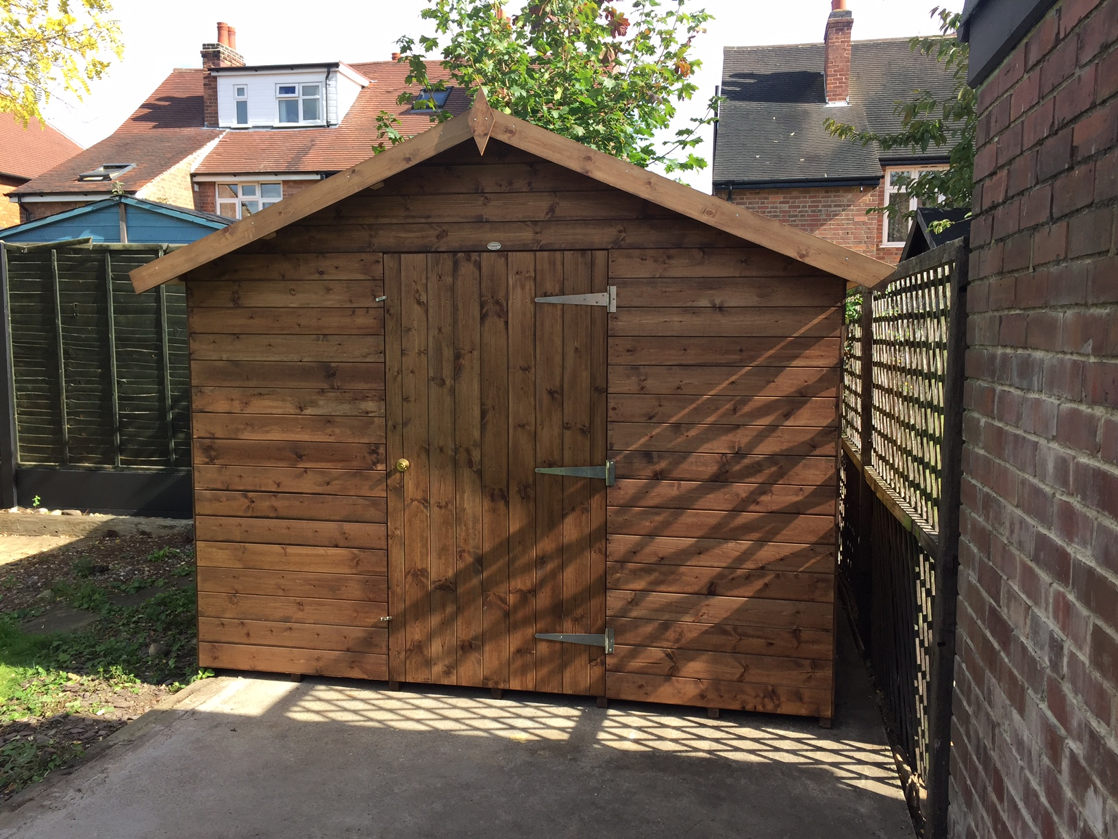 driveway dublin locks lockss lock shed of touch for garden u garage mm side rim how s size do door gate different full work sheds