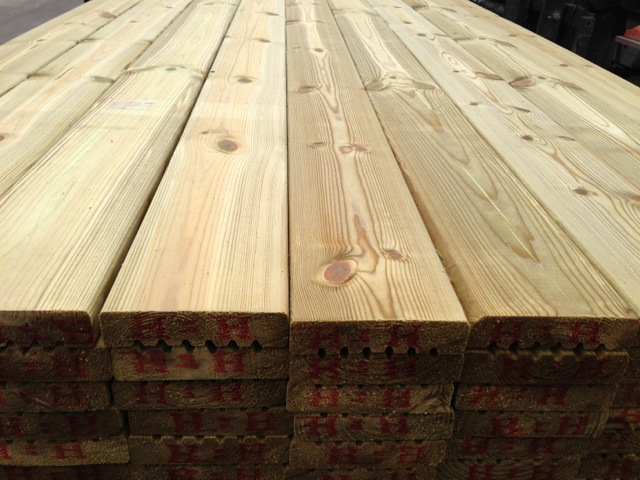 Decking boards long eaton fencing for Tanalised timber decking