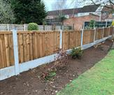 4ft high fencing fitted in Toton. 29.01.19
