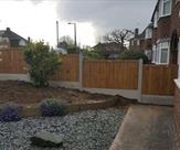 4ft high fencing fitted in long eaton