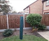 6ft high fence fitted in Long Eaton 2nd October 2018
