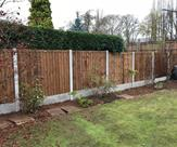 6ft high fencing fitted in Beeston.