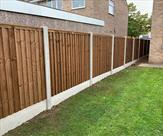 6ft high fencing fitted in long Eaton. 3rd oct 2108