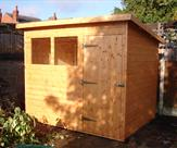8 x 6 Pent Shed Nottingham