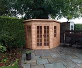 8' x 8' Corner Summerhouse 2