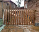 8ft wide x 4ft high Morticed and Tenoned Gate - Front