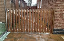 8ft wide x 4ft high Morticed and Tenoned Gate