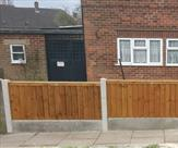 A nice front fence fitted in Chilwell
