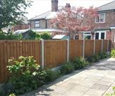 Another nice neat fence fitted in Breaston.