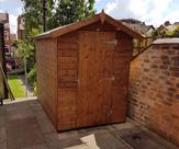 Apex shed 7ft x 5ft no windows 2017