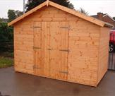 10' x 6' Apex Double Door Shed - Chellaston