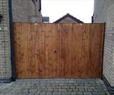 Double Matchboard Mortice and Tenon Gates Front