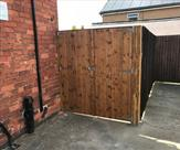 Double gates fitted in Sawley