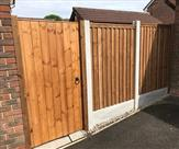 Fencing and gate fitted in Chilwell.