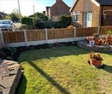 Front garden fence fitted in Attenborough.