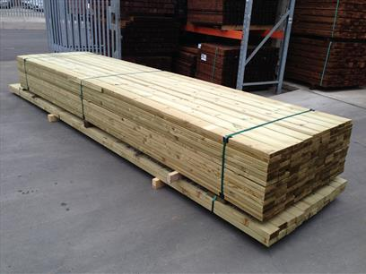 Packed Decking