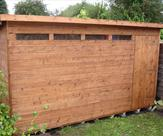 Pent Security Shed - Stapleford