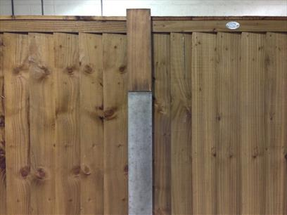 Timber Slotted Post Extender