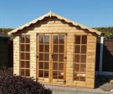 Summerhouses_ Loglap Summerhouse Newthorpe