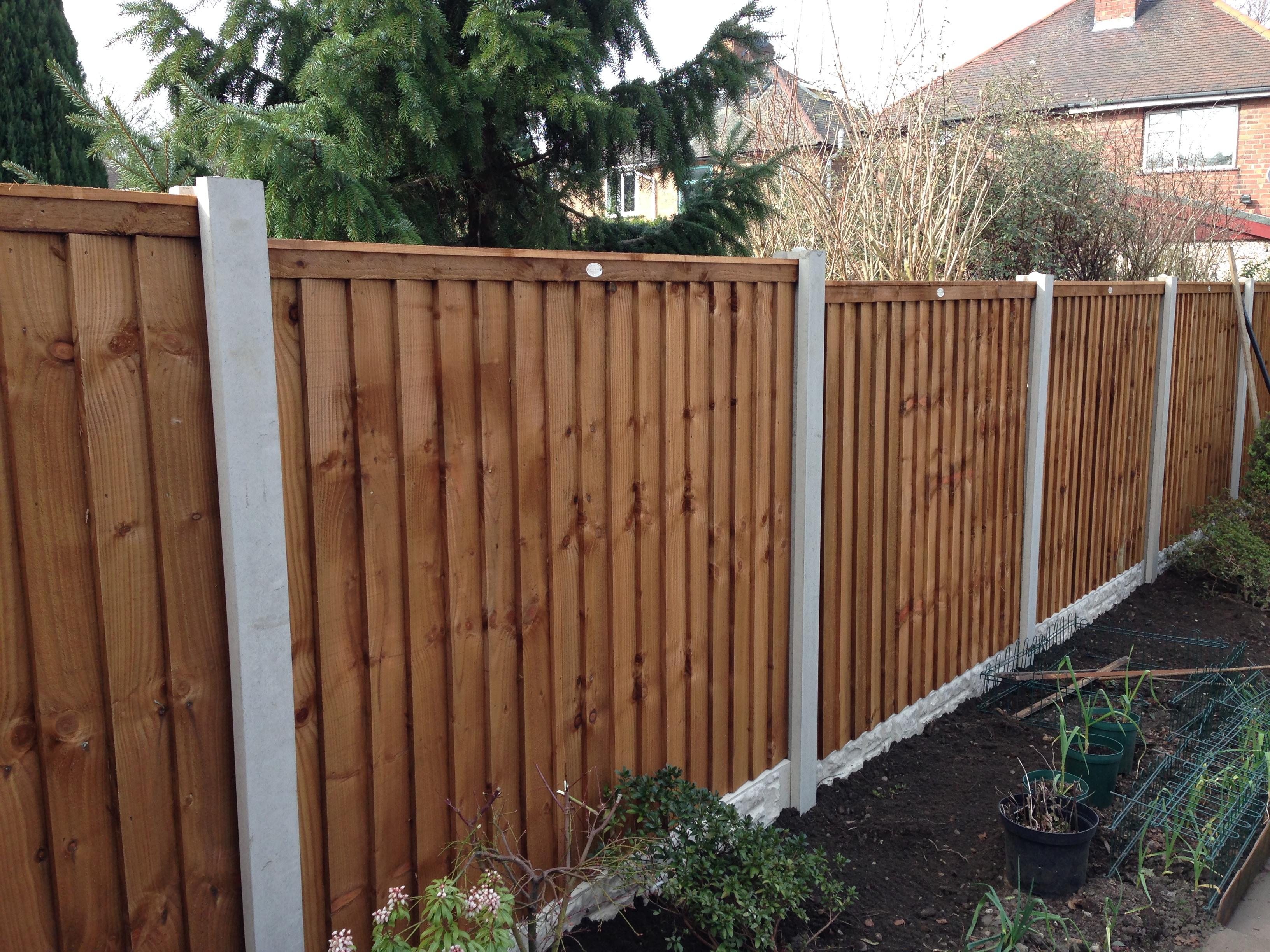 fences gallery long eaton fencing. Black Bedroom Furniture Sets. Home Design Ideas