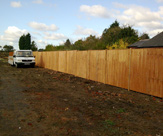 6ft x 6ft Closeboard Fence Panels with 8ft x 4 x 4 Wooden Posts