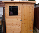 6ft x 4ft Pent Shed