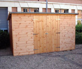 Pent Shed with double doors