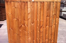 horizontal hit and miss long eaton fencing. Black Bedroom Furniture Sets. Home Design Ideas