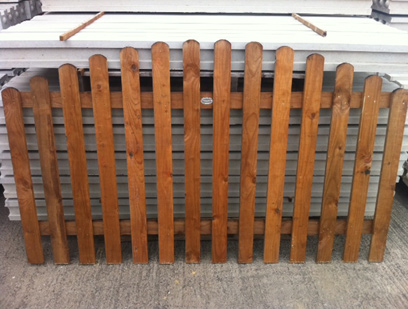 Convexed Picket Fencing