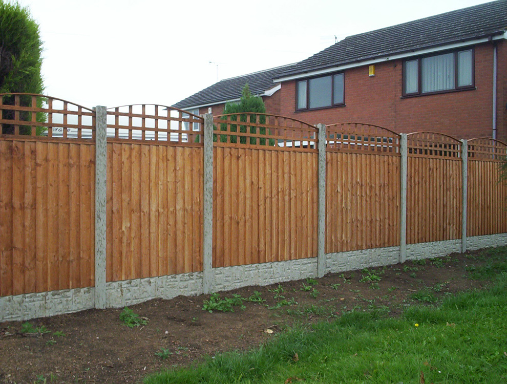 Arched Trellis Long Eaton Fencing