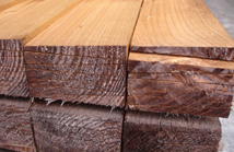 2ex 22 x 125 Pressure Treated Feather edge boards