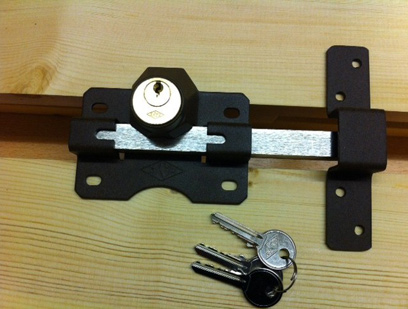 Gate Key Lock