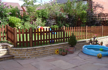 Pressure Treated Picket Fencing