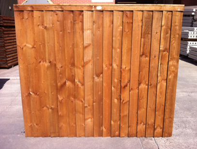Pressure Treated Premium Feather Edge Fence Panel