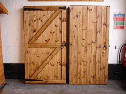 Matchboard Gate Treated
